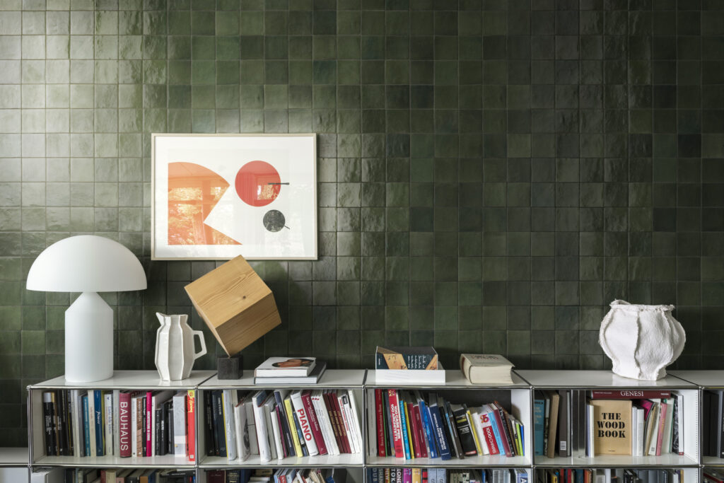 Marazzi-Crogiolo-Zellige-Bosco-Mosaik-Tradition-Handwerk-Retro-Glanz-Design-inspiration