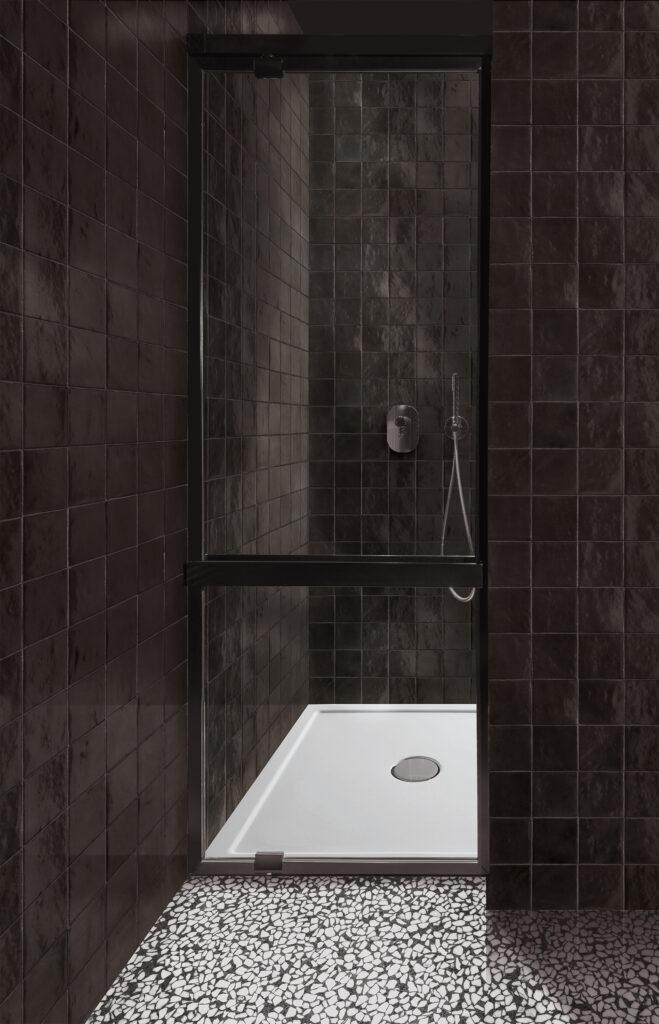 Marazzi-Crogiolo-Zellige-Carbone-Mosaik-Tradition-Handwerk-Retro-Glanz-Design-inspiration