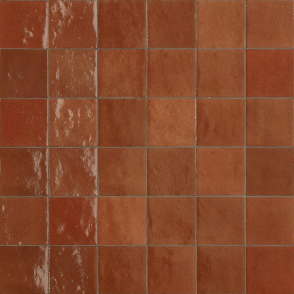 Marazzi-Crogiolo-Zellige-Corallo-Mosaik-Tradition-Handwerk-Retro-Glanz-Design-inspiration