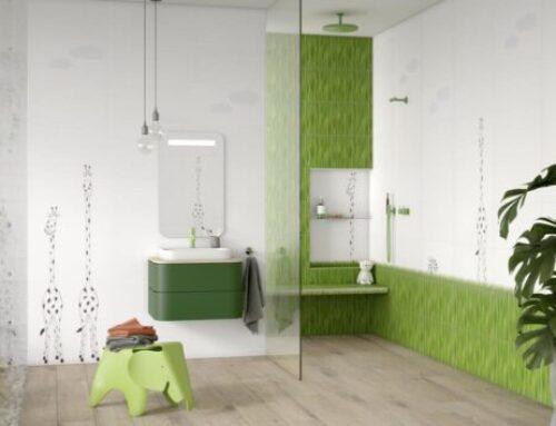 Badezimmerfliesen LOUIS & ELLA 2.0 – Die fantastische Fliesenserie für das Kinderbad ist wieder da !