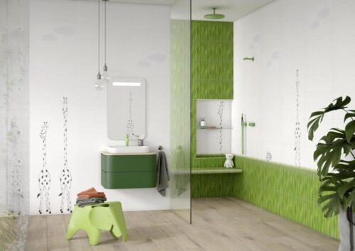 steuler-louis ella-kinderbad-wolken-gras-giraffe-zebra-dekorfliese-30x60-modern-exotisch