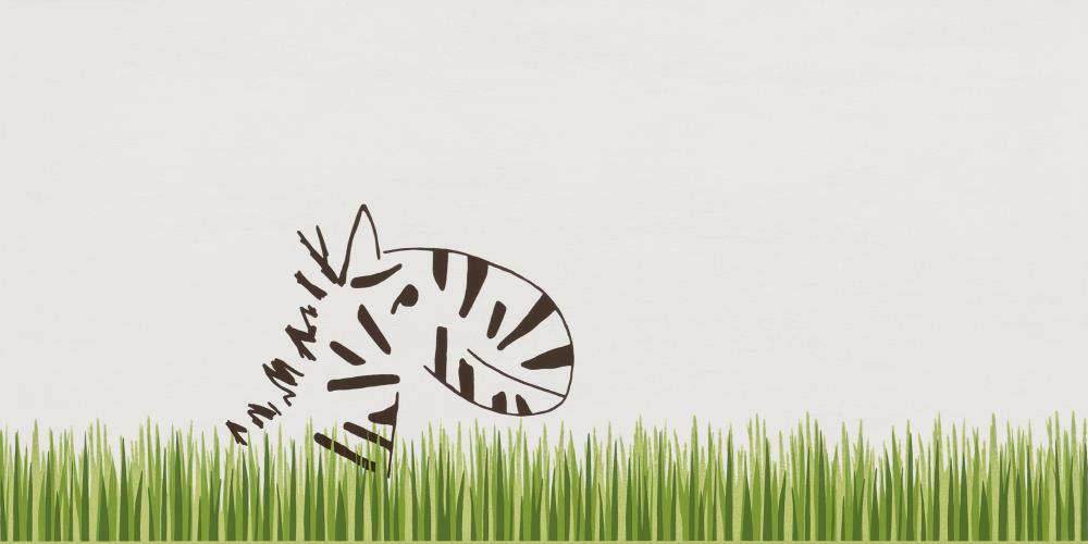 steuler-louis ella-kinderbad-gras-zebra-dekorfliese-30x60-modern-exotisch