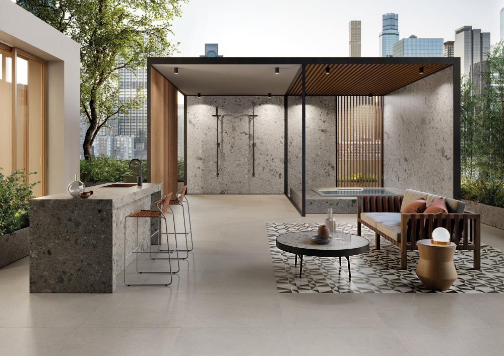 Italgraniti_silver grain_esterno residenziale