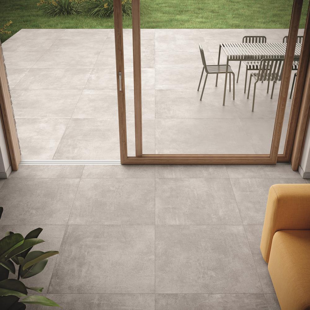agrobbuchtal-like-tweed-warm grey-dekorfliese-bodenfliese-wandfliese-terrassenfliese-betonoptik-modern-wohlfühlen