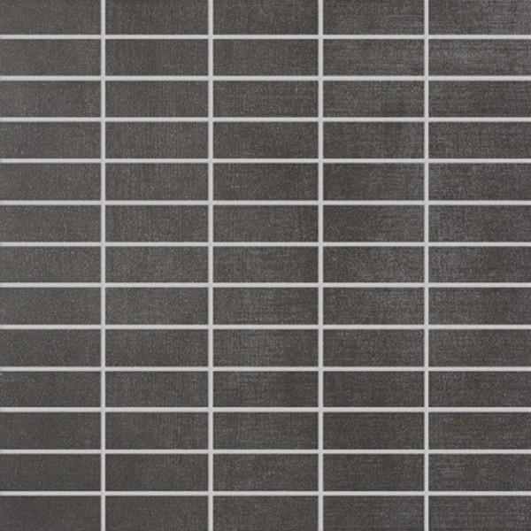 Agrob Buchtal Rovere Flatile Anthrazit Mosaikfliese 30x30 Art.-Nr. 3062-22741K