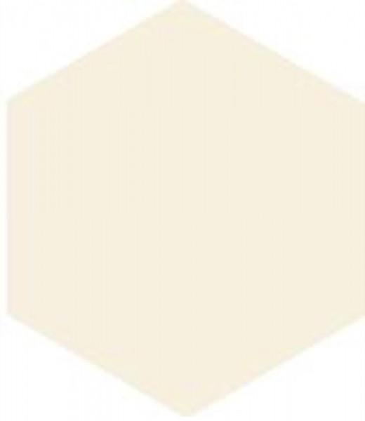 Zahna Historic Weiss Uni Sechseck 10x11,5/1,1 Art.-Nr.: 611100001.16