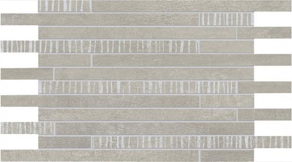Agrob Buchtal Alcina Sola Kieselgrau Mosaikfliese 24,3X43,8/1, Art.-Nr. 283064