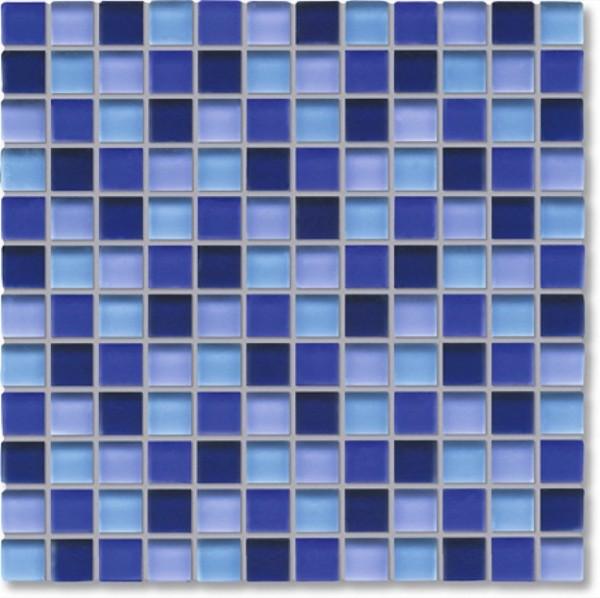 Agrob Buchtal Tonic Blaumix Mosaikfliese 30x30 Art.-Nr.: 069865