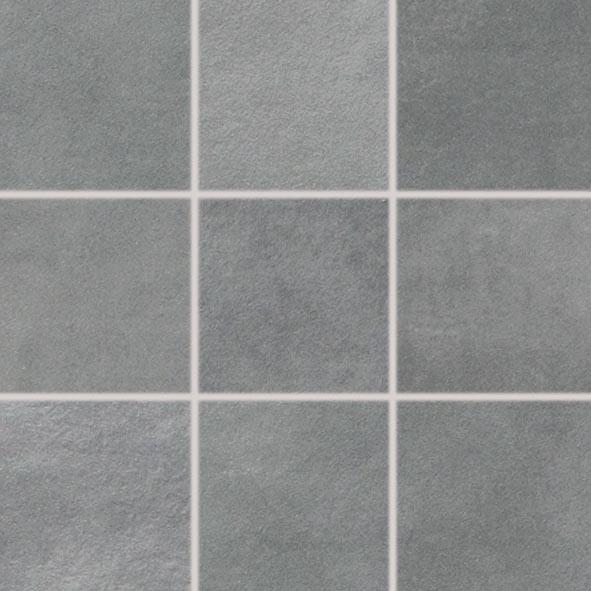 FKEU Kollektion Tontech Dunkelgrau Mosaikfliese 10X10 R10/B Art.-Nr.: FKEU0991450