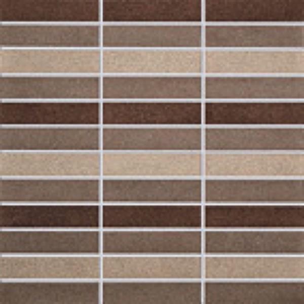 Agrob Buchtal La Casa Braun Mix Mosaikfliese 30x30 R10/A Art.-Nr. 182126