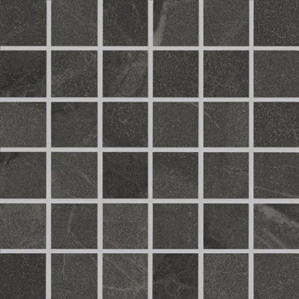 Agrob Buchtal Somero Anthrazit Mosaikfliese 5x5(30x30) R10/B Art.-Nr. 434643