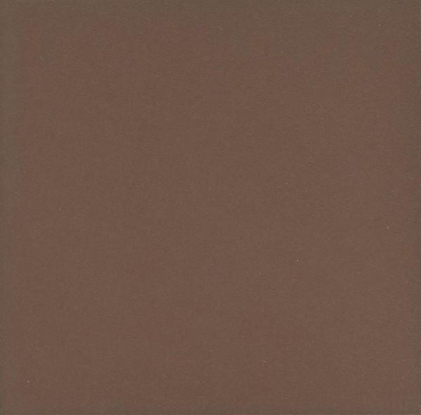 Zahna Unifarben Braun Uni Bodenfliese 25x25/1,1 R9 Art.-Nr.: 411250001.08