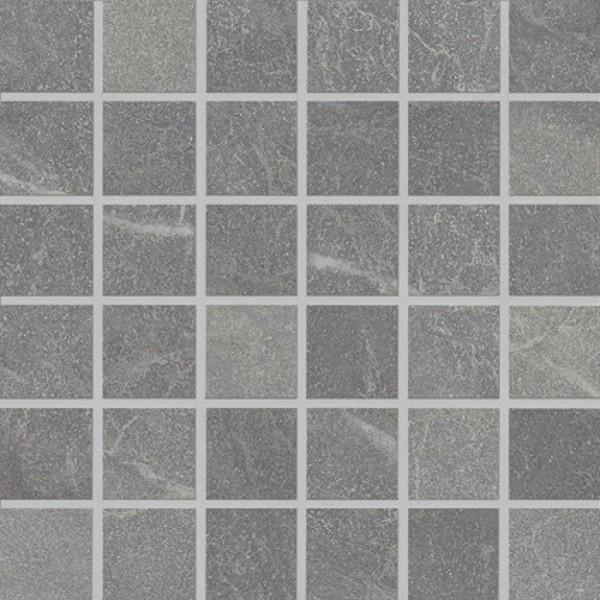 Agrob Buchtal Somero Grau Mosaikfliese 5x5 30x30 R10 B