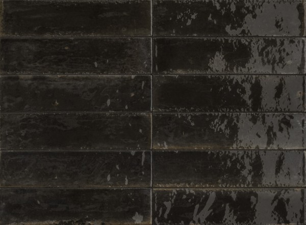 Marazzi Lume Black Wandfliese 6X24/1 Art.-Nr. M6RP
