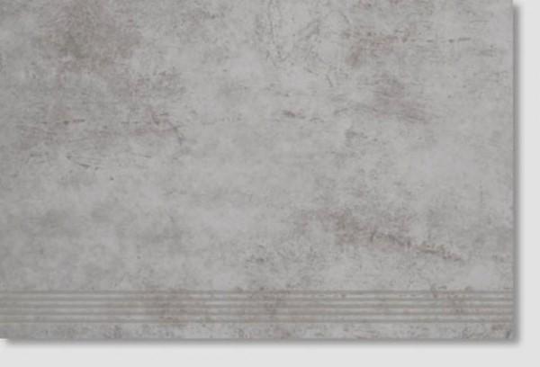 Agrob Buchtal Construct Hellgrau Stufe 40x60 R9 Art.-Nr.: 3090-B749HK