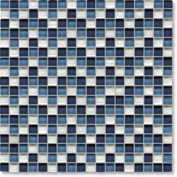 Agrob Buchtal Tonic Weissblaumix Mosaikfliese 30x30 Art.-Nr.: 069873