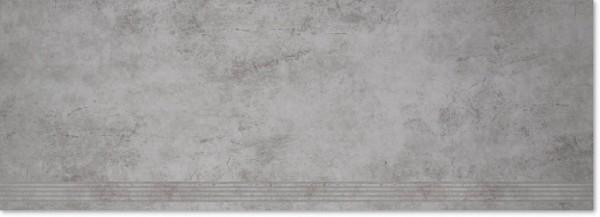 Agrob Buchtal Construct Hellgrau Stufe 40x120 R9 Art.-Nr.: 3090-B769HK