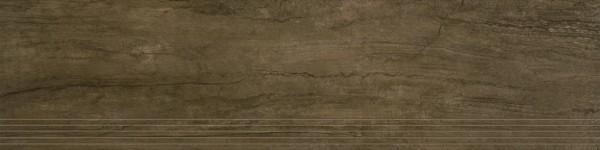 Agrob Buchtal Twin Mittelbraun Stufe 30x120 R9 Art.-Nr.: 8432-B629HK