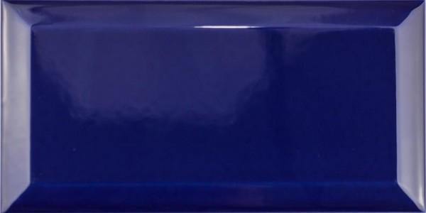 FKEU Kollektion Metro Star Cobalt Blau Glänzend Facettenfliese 10x20 Art.-Nr. FKEU0992096