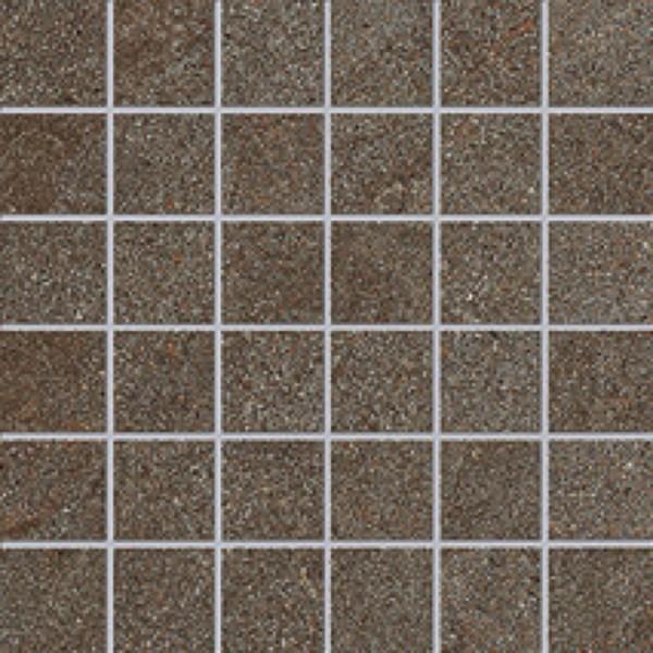 Agrob Buchtal Trias Erdbraun Mosaikfliese 5x5 R11/B Art.-Nr. 052269
