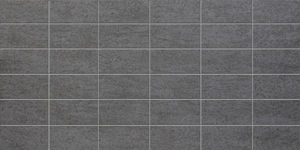 Agrob Buchtal Geo Mosaico Anthrazit Mosaikfliese 30x60 R10/A Art.-Nr. 432942