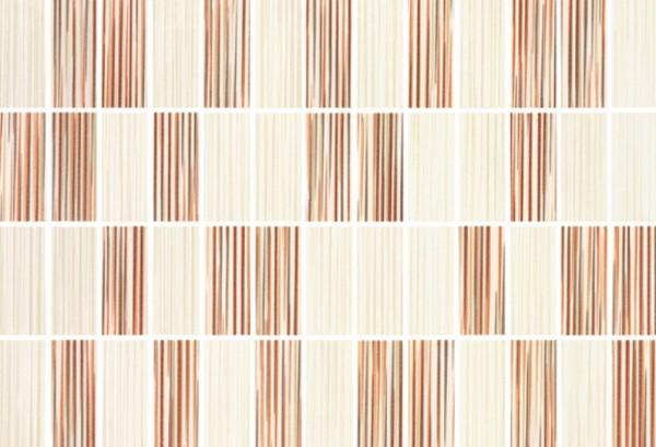 Steuler Colour Rays Orangebrown Wandfliese 28x40 Art.-Nr.: 86027