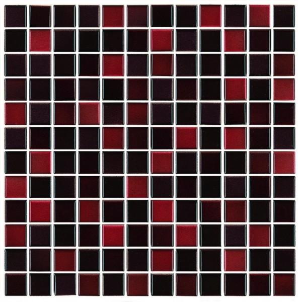 Steuler S2 Rubin Mix Mosaikfliese 2,3x2,3 Art.-Nr.: 70049