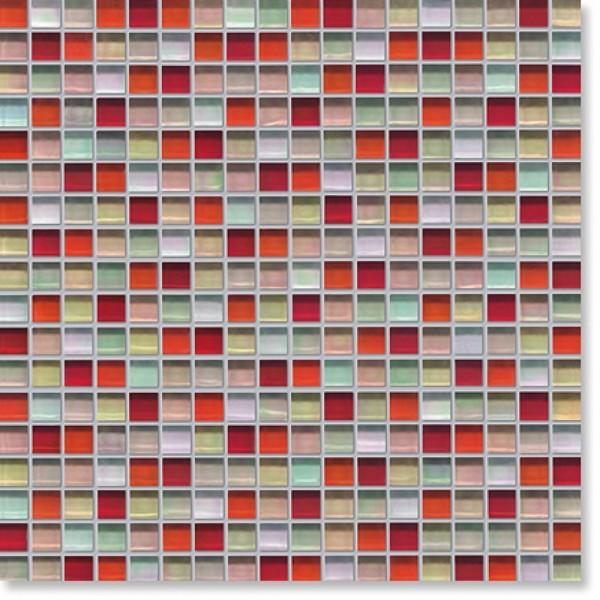 Agrob Buchtal Tonic Rot Beige Mix Metall Mosaikfliese 30x30 Art.-Nr.: 060548