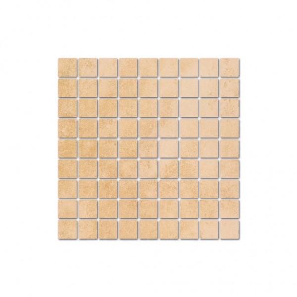 Interbau Wohnkeramik Lithos Jura Gelb Mosaikfliese 31,3x31,3 R10 Art.-Nr.: 753131330