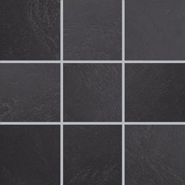 Agrob Buchtal Emotion Tiefanthrazit Mosaikfliese 10x10 R10/B Art.-Nr. 433133H