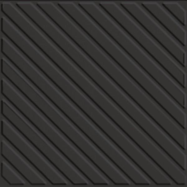 Zahna Historic Anthrazit Uni Ripp Bodenfliese 17x17/1,1 Art.-Nr.: 411170593.15