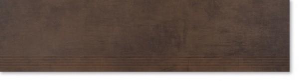 Agrob Buchtal Bosco Dunkelbraun Stufe 30x120 R9 Art.-Nr.: 4010-B729HK