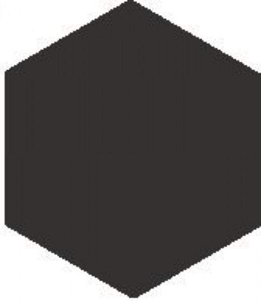 Zahna Historic Schwarz Uni Sechseck 10x11,5/1,1 Art.-Nr.: 611100001.02