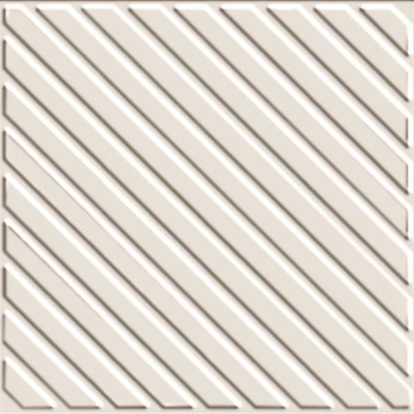Zahna Historic Weiss Uni Ripp Bodenfliese 16x16/1,1 Art.-Nr.: 411161563.16