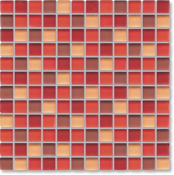 Agrob Buchtal Tonic Rotmix Mosaikfliese 30x30 Art.-Nr.: 069867