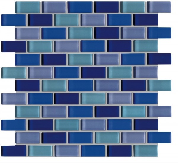 Agrob Buchtal Tonic Blaumix Mosaikfliese 30x30 Art.-Nr.: 060533