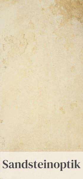 Fliesen in Sandsteinoptik