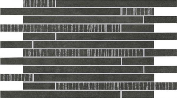Agrob Buchtal Alcina Sola Graphit Mosaikfliese 24,3X43,8/1, Art.-Nr. 283066