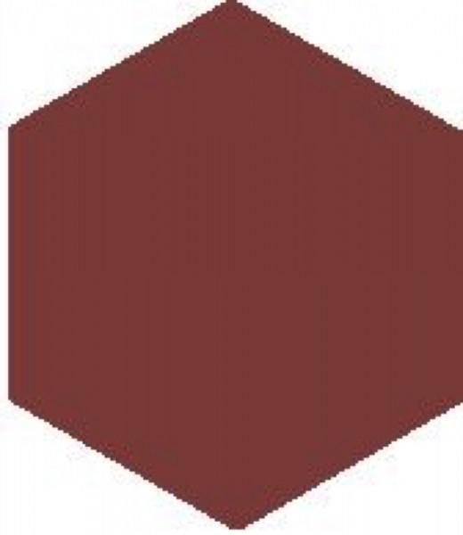Zahna Historic Oxidrot Sechseck 10x11,5/1,1 Art.-Nr.: 611100001.304