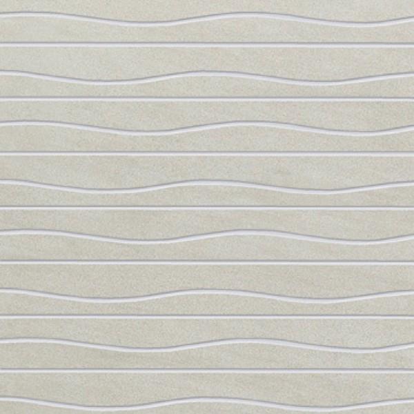 Agrob Buchtal Compose Wave Soft Grey Wandfliese 25x25 R9 Art.-Nr.: 372169