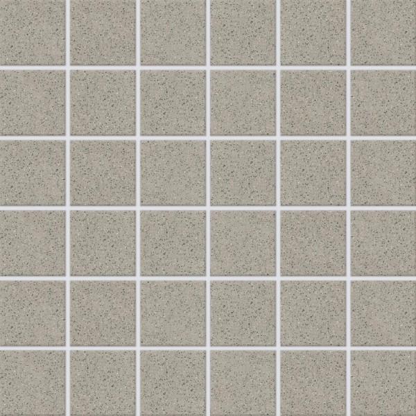 Agrob Buchtal Basis 3 Mittelgrau Mosaikfliese 5x5 R10/B Art.-Nr.: 620510-073