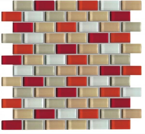 Agrob Buchtal Tonic Rotbeigemix Mosaikfliese 30x30 Art.-Nr.: 060538