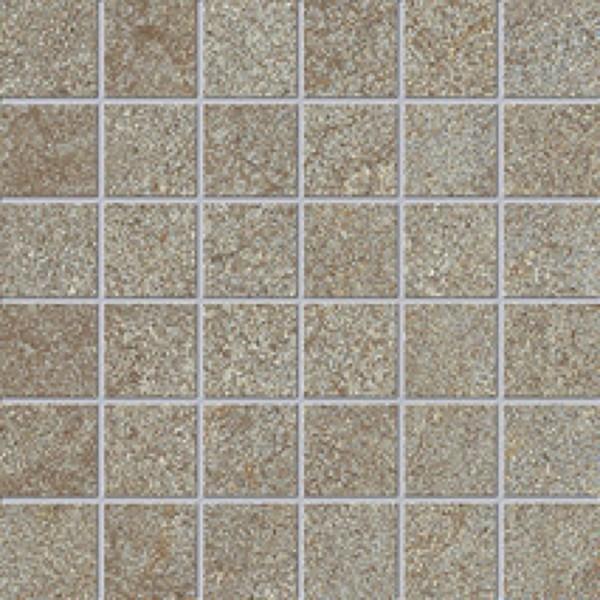 Agrob Buchtal Trias Zinkgrau Mosaikfliese 5x5 R11/B Art.-Nr. 052266