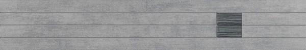 Agrob Buchtal Cedra Grau Laminat Bordüre 60x10 Art.-Nr.: 281728