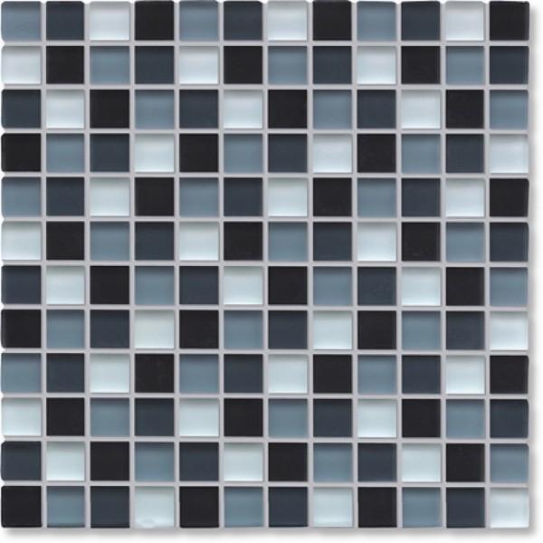 Agrob Buchtal Tonic Schwarz Weissmix Mat Mosaikfliese 30x30 Art.-Nr.: 069859