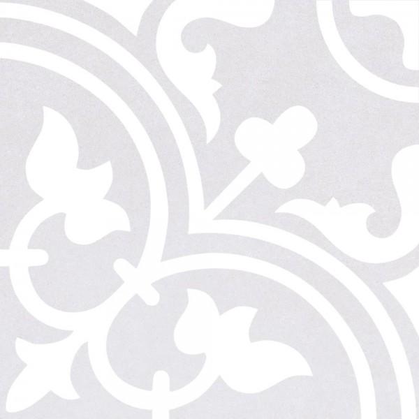 Musterfliesenstück für FKEU Histori Dekor Grau Dekorfliese 25X25/0,95 R9 Art.-Nr. FKEU0992056