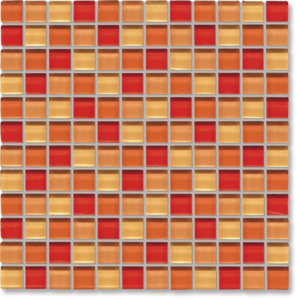 Agrob Buchtal Tonic Orangemix Mosaikfliese 30x30 Art.-Nr.: 069860