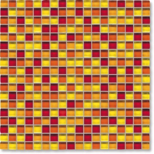 Agrob Buchtal Tonic Gelb Rotmix Mosaikfliese 30x30 Art.-Nr.: 069872