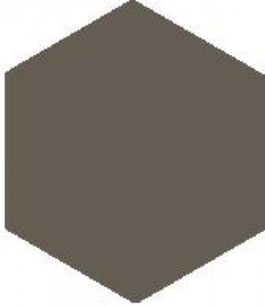 Zahna Historic Steingrau Uni Sechseck 10x11,5/1,1 Art.-Nr.: 611100001.06