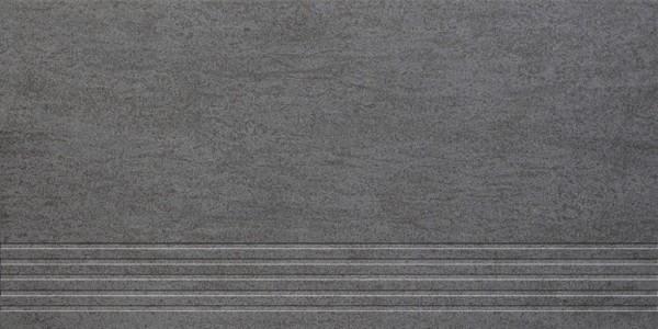 Agrob Buchtal Geo Anthrazit Stufe 30x60 R10/A Art.-Nr.: 432842